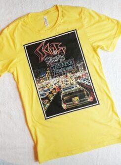 sci fi drive in tee shirt print Disney Wrold fan gift idea