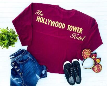 Hollywood tower of terror spirit jersey