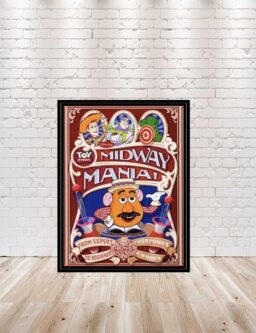 Toy Story Mania poster Best Gifts for Hollywood Studios Fans