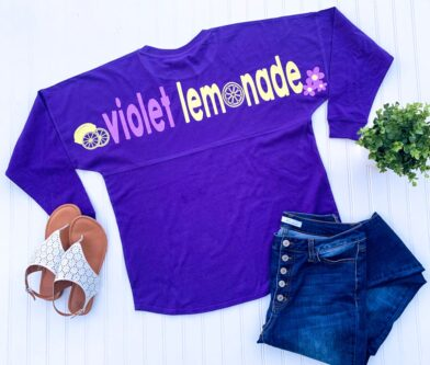 violet lemonade walt disney world epcot shirt