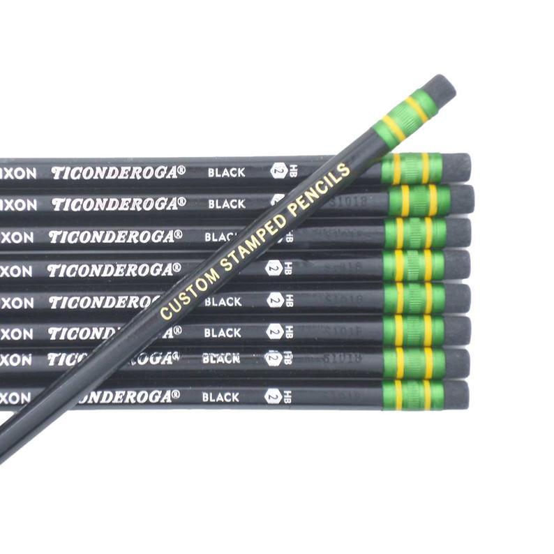 Customized lead pencils