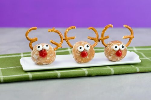 Rudolf the reindeer Holiday party snack idea
