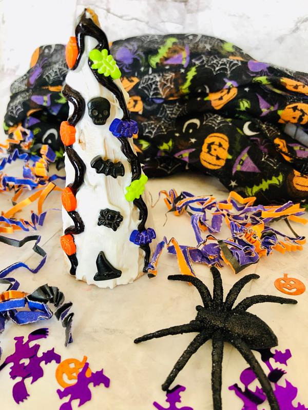 Halloween Sugar Cone Decorating Activity for Kids