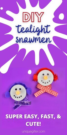 Christmas Craft | Snowmen Craft | Ornament DIY Craft | Best Ornament Craft | Holiday Themed Craft | Tealight Craft Snowmen Idea | Christmas Craft Ideas | Snowmen DIY Crafts | Ornament Crafts for The Tree | Christmas Ornament Crafts | #Christmas #snowmen #craft #diy #holidays