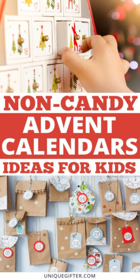 The best non-candy advent calendar idea | Non-candy Christmas | Candy-Free Holiday | Thoughtful Christmas Gifts | Unique Gifts for Kids | Non-Candy Holiday Presents | #Christmas #Giftideas #Candyfreegifts #non-candygifts #kidsgifts