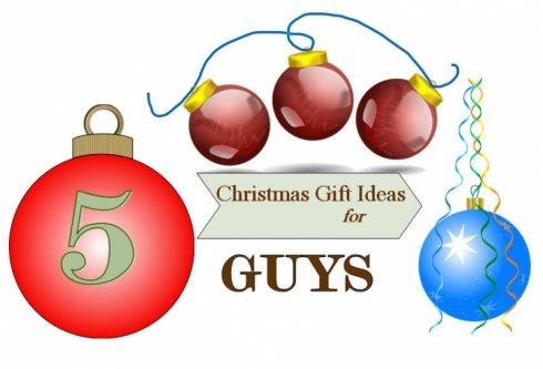 5 Christmas Gift Ideas for Guys